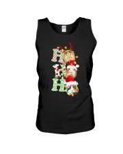 Christmas Guinea Pig Ho Ho Ho Shirt Unisex Tank thumbnail