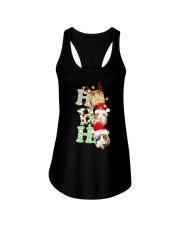 Christmas Guinea Pig Ho Ho Ho Shirt Ladies Flowy Tank thumbnail