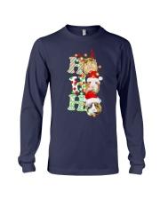 Christmas Guinea Pig Ho Ho Ho Shirt Long Sleeve Tee thumbnail