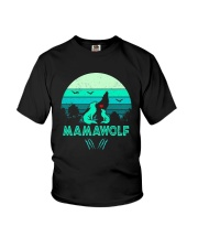 Vintage Mamawolf Shirt Youth T-Shirt thumbnail