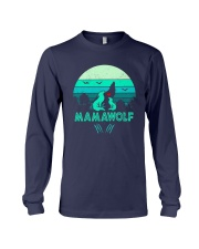 Vintage Mamawolf Shirt Long Sleeve Tee tile