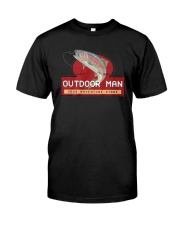 Outdoor Man Your Adventure Store Shirt Classic T-Shirt front