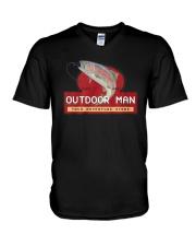 Outdoor Man Your Adventure Store Shirt V-Neck T-Shirt thumbnail