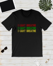 Red Green Yellow I Can't Breathe Shirt Classic T-Shirt lifestyle-mens-crewneck-front-17