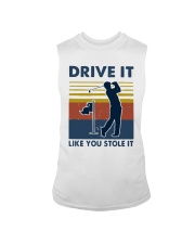 Vintage Golf Drive It Like You Stole It Shirt Sleeveless Tee thumbnail