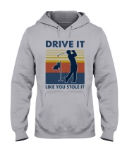 Vintage Golf Drive It Like You Stole It Shirt Hooded Sweatshirt tile