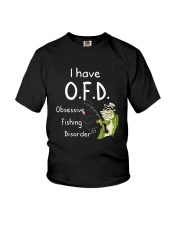 I Have Ofd Obsessive Fishing Disorder Shirt Youth T-Shirt thumbnail