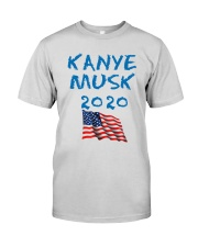 American Flag Kanye Musk 2020 Shirt Premium Fit Mens Tee tile
