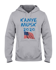 American Flag Kanye Musk 2020 Shirt Hooded Sweatshirt thumbnail