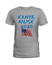 American Flag Kanye Musk 2020 Shirt Ladies T-Shirt thumbnail