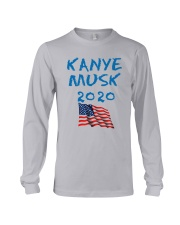 American Flag Kanye Musk 2020 Shirt Long Sleeve Tee thumbnail