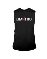 Leave EU I'm Turning My Back On The EU Shirt Sleeveless Tee thumbnail