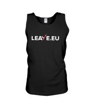Leave EU I'm Turning My Back On The EU Shirt Unisex Tank thumbnail