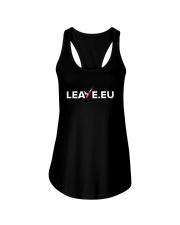 Leave EU I'm Turning My Back On The EU Shirt Ladies Flowy Tank thumbnail