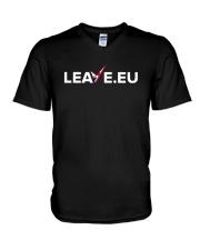 Leave EU I'm Turning My Back On The EU Shirt V-Neck T-Shirt thumbnail