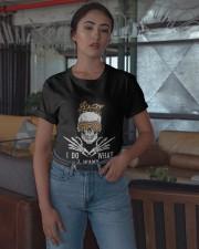 Skull I Do What I Want Shirt Classic T-Shirt apparel-classic-tshirt-lifestyle-05