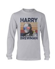 Vintage Drinking Beer Harry Brewman Shirt Long Sleeve Tee thumbnail
