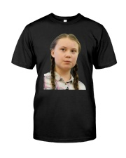 Official Woody Harrelson Greta T Shirt Premium Fit Mens Tee front