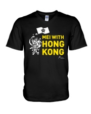 Mei With Hong Kong Freedom Hong Kong Shirt V-Neck T-Shirt thumbnail