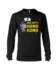 Mei With Hong Kong Freedom Hong Kong Shirt Long Sleeve Tee thumbnail
