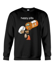 Sloths Happy Pills Shirt Crewneck Sweatshirt thumbnail