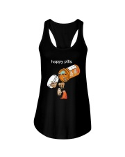 Sloths Happy Pills Shirt Ladies Flowy Tank thumbnail