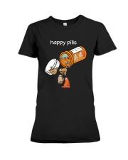 Sloths Happy Pills Shirt Premium Fit Ladies Tee thumbnail
