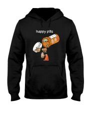 Sloths Happy Pills Shirt Hooded Sweatshirt thumbnail