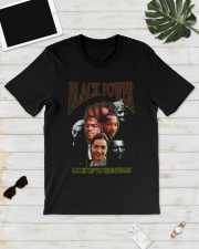 Black Power Look Up To The Stars Shirt Classic T-Shirt lifestyle-mens-crewneck-front-17
