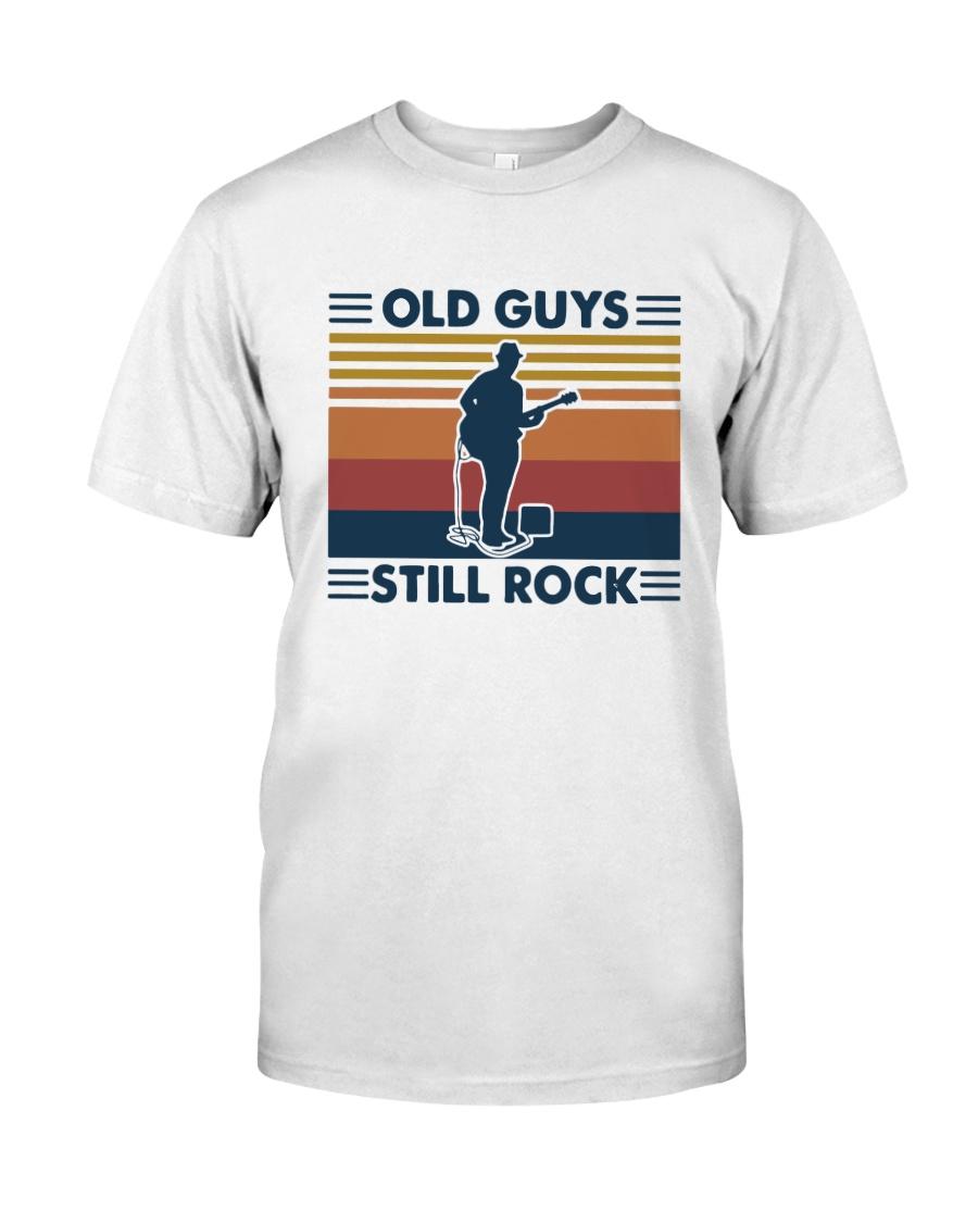 Vintage Old Guys Still Rock Shirt Classic T-Shirt
