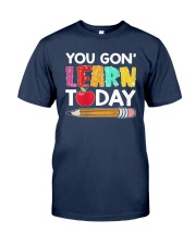 Apple Pencil You Gon Learn Today Shirt Classic T-Shirt tile