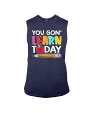Apple Pencil You Gon Learn Today Shirt Sleeveless Tee thumbnail