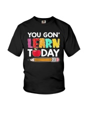 Apple Pencil You Gon Learn Today Shirt Youth T-Shirt thumbnail