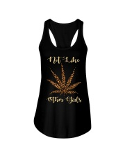Leopard Cannabis Not Like Other Girls Shirt Ladies Flowy Tank thumbnail