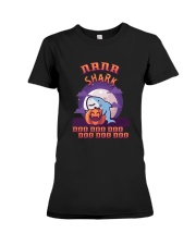 Halloween Nana Shark Doo Doo Doo Doo Doo Shirt Premium Fit Ladies Tee thumbnail