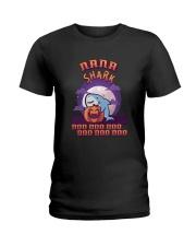 Halloween Nana Shark Doo Doo Doo Doo Doo Shirt Ladies T-Shirt thumbnail