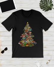 Turtle Christmas Tree Shirt Classic T-Shirt lifestyle-mens-crewneck-front-17