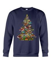 Turtle Christmas Tree Shirt Crewneck Sweatshirt thumbnail