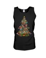 Turtle Christmas Tree Shirt Unisex Tank thumbnail