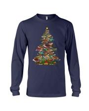 Turtle Christmas Tree Shirt Long Sleeve Tee thumbnail