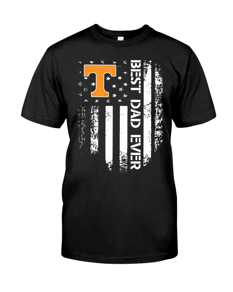 Tennessee Flag Best Dad Ever Shirt Classic T-Shirt