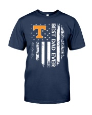 Tennessee Flag Best Dad Ever Shirt Classic T-Shirt tile