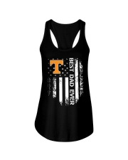 Tennessee Flag Best Dad Ever Shirt Ladies Flowy Tank thumbnail