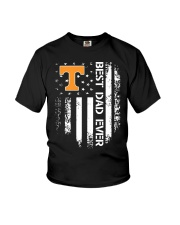 Tennessee Flag Best Dad Ever Shirt Youth T-Shirt thumbnail