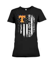 Tennessee Flag Best Dad Ever Shirt Premium Fit Ladies Tee thumbnail
