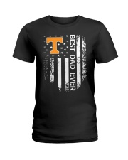 Tennessee Flag Best Dad Ever Shirt Ladies T-Shirt thumbnail