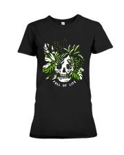 Skull Full Of Life Shirt Premium Fit Ladies Tee thumbnail
