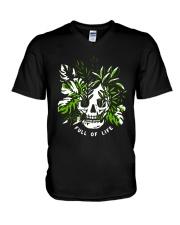 Skull Full Of Life Shirt V-Neck T-Shirt thumbnail