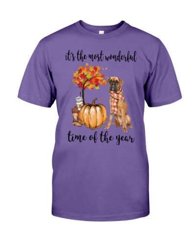 Boxer It's The Most Wonderful Time Shirt