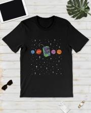 Juice Wrld In Space Shirt Classic T-Shirt lifestyle-mens-crewneck-front-17